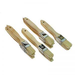 Rotix de 9807120x Pinceau plat 25mm–Pinceau pour colle et bricolage–Vernis à lasure Lasure Pinceau–pack de 20 de la marque Rotix image 0 produit