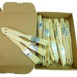 Rotix de 9807120x Pinceau plat 25mm–Pinceau pour colle et bricolage–Vernis à lasure Lasure Pinceau–pack de 20 de la marque Rotix image 1 produit