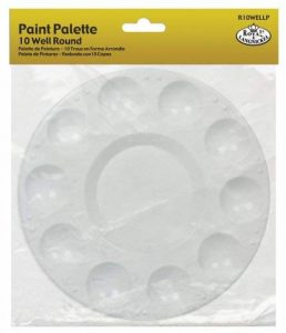 Royal & Langnickel R10WELLP Palette plate 10 Godets emballée de la marque Royal & Langnickel image 0 produit