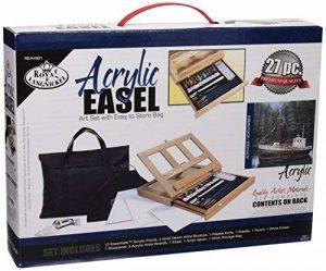 Royal & Langnickel REA-4901 Set Chevalet de peinture acrylique mis dans un sac facile à ranger de la marque Royal & Langnickel image 0 produit
