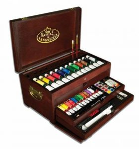 Royal & Langnickel Set d'artiste Coffret de peinture 80 pièces de la marque Royal & Langnickel image 0 produit