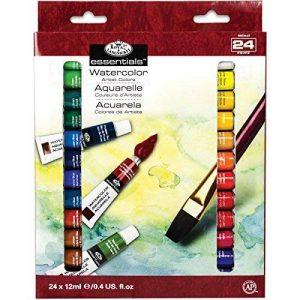 Royal & Langnickel WAT24 Assortiment de 24 Tubes de peinture aquarelle 24 x 12 ml de la marque Royal & Langnickel image 0 produit