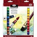 Royal & Langnickel WAT24 Assortiment de 24 Tubes de peinture aquarelle 24 x 12 ml de la marque Royal & Langnickel image 1 produit