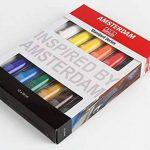 ROYAL TALENS Set 12 Tubes 20 ml Peinture Acrylique AMSTERDAM Introset II de la marque Royal Talens image 1 produit