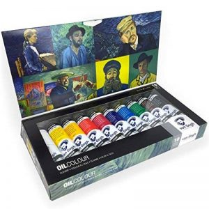 Royal Talens–Van Gogh–Ensemble de peintures Couleurs à l'huile–Tube de 10x 40ml de la marque Van-Gogh image 0 produit