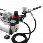 Royalmax Régulateur à air de pression d'huile / d'eau avec filtre intégré. Compresseur aérographe HS-F2 + support pour aérographe. de la marque Veda image 1 produit