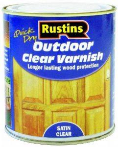 Rustins Vernis extérieur transparent pour peinture brillantes/satinées Satin 250ML de la marque Rustins image 0 produit