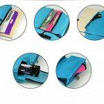 Sacs d'outils de dessin polyvalents - Sac de planche à dessin A2 - Sac à dos étanche de transport d'objets d'art noir de la marque Univegrow image 3 produit