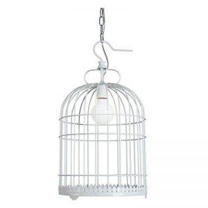 Sadasd au style ancien vintage industriel Suspension–Suspension Cage à oiseaux Lustre Bar Restaurant balcon Allée lumières décoratives Creative fer lampe Nordic Cage à oiseaux Lustre Blanc de la marque SADASD image 0 produit