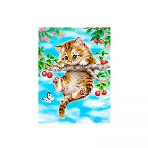 San Bodhi® Mode animaux Peinture à l'huile par numéro DIY Peinture sans cadre Home Office Decor N°4 de la marque San Bodhi® image 0 produit