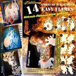 Schneidmeister EZ–Flames Vol. 01 14-Piece Airbrush Stencils Kit Flames by SCHNEIDMEISTER de la marque SCHNEIDMEISTER image 1 produit
