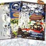 """SCHNEIDMEISTER Pochoirs pour aérographe motif Tête de mort : Field of Skulls VOL. 01(""""THE HATEFUL 12""""), Single/Quick Step EZ Skullmaker Artshield®, Größe L ca. A4 de la marque SCHNEIDMEISTER image 1 produit"""