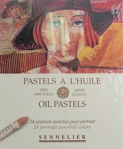 Sennelier artistes huile Pastels - Set of 24 x Portrait Couleurs de la marque Sennelier image 0 produit