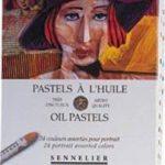 Sennelier artistes huile Pastels - Set of 24 x Portrait Couleurs de la marque Sennelier image 1 produit