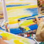 Set de 12 peintures acryliques par Magicdo, Set de Peinture Acrylique pour Toile, Bois, Argile, Tissu, Céramique & Artisanat, Peinture Acrylique Non-Toxique pour les Débutants, Hobbyistes & Artistes (12 * 12ml) de la marque Magicdo® image 5 produit