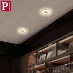 Set de 3spots encastrables Premium LED Whirl 3x 6W Verre, Aluminium, satin acrylique 150mm Ouverture encastrée: 100mm Profondeur: 40mm de la marque GCS image 1 produit
