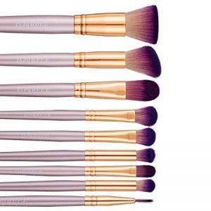 Set Pinceaux Maquillage, Lot de 9 Pinceaux de Maquillage Professionnel Sets de Pinceaux Poil Synthétique Super Doux Inclure Pinceaux Poudre Pinceaux pour le Visage Pinceaux pour les Yeux Pinceaux Paupières Pinceaux Liner de la marque Newstech image 0 produit