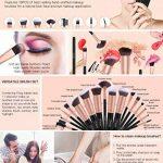 set pinceaux professionnels TOP 12 image 4 produit