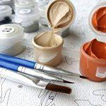 Shukqueen DIY Peinture par numéros pour adultes, DIY Peinture à l'huile kit pour enfant débutant–Chat du Cheshire 40,6x 50,8cm, Cheshire, Framed Canvas de la marque Shukqueen image 2 produit