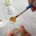 Shukqueen DIY Peinture par numéros pour adultes, DIY Peinture à l'huile kit pour enfant débutant–Chat du Cheshire 40,6x 50,8cm, Cheshire, Framed Canvas de la marque Shukqueen image 4 produit