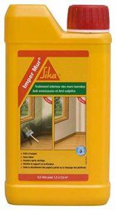 Sika 1309 Imper Mur - Résine pour traitement des murs humides - anti salpêtre - 0.5 L - Transparent de la marque SIKA FRANCE S.A.S image 0 produit