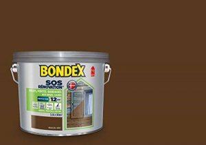SOS Rénovation Volets, Bondex - Brun Ral 8008 Satin, 2,5L de la marque Bondex image 0 produit