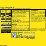Sous-couche JULIEN pour plaques de plâtre cartonnées - Blanc Mat 2,5L de la marque Julien image 1 produit