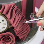 Spraycraft Set aérographe et kit de compresseur avec Magic Couleurs et solution de nettoyage, Rose, 30x 7x 21cm de la marque Spraycraft image 3 produit