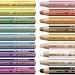 Stabilo Uk2/880–18Woody 3en 1Multi Purpose crayon–Couleurs assorties (Lot de 18) de la marque STABILO image 1 produit