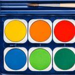 Staedtler Noris Club 888, Boîte peinture de 12 pastilles de couleurs lumineuses assorties + 1 tube gouache blanche + 1 pinceau, 888 NC12 de la marque Staedtler image 4 produit