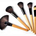 Sunjas Kit de 24 Pinceaux Maquillage - Brosse de Maquillage / Brush Cosmétique Beauté & Make-up Make Up Brush Pinceau cosmétique de qualité Professionnel de la marque Sunjas image 2 produit