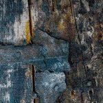 Tapis Design Coloré Bois Effet Relief En Turquoise Jaune Gris Chiné, Dimension:160x230 cm de la marque Paco Home image 2 produit