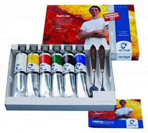 Thats Me Lance Boîte de tubes de peinture à l'huile 6 x 200ml de la marque Van Gogh image 0 produit