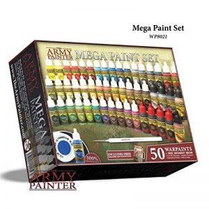 The Army Painter: Kit de Peinture pour Miniature, Kit de Peinture Warpaints Mega 3 de la marque Warpaints image 0 produit