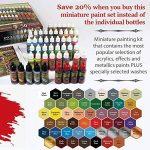 The Army Painter: Kit de Peinture pour Miniature, Kit de Peinture Warpaints Mega 3 de la marque Warpaints image 1 produit