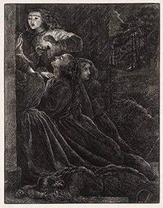 The Museum Outlet–The Foolish vierges, Published1864, Tendue sur toile Galerie enveloppé. 29,7x 41,9cm de la marque The Museum Outlet image 0 produit