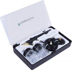 Timbertech® ABPST02 Kit aérographe avec coffret en plastique, tuyau et adaptateurs de la marque Timbertech® image 0 produit