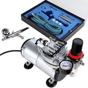 Timbertech® ABPST05 Kit comprenant 1aérographe double action et 1compresseur de la marque Timbertech® image 0 produit