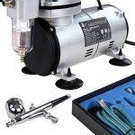 Timbertech® ABPST05 Kit comprenant 1aérographe double action et 1compresseur de la marque Timbertech® image 1 produit