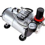 Timbertech® ABPST05 Kit comprenant 1aérographe double action et 1compresseur de la marque Timbertech® image 2 produit