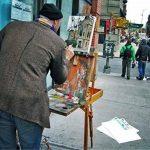 """Toile de Peinture Daveliou 40.6 x 50.8 cm (16""""x 20"""") - Toile pour la peinture des Pack de 5 Pièces - Triple Apprêtée de Toile d'Art de la marque DAVELIOU image 2 produit"""