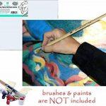 """Toile de Peinture Daveliou 40.6 x 50.8 cm (16""""x 20"""") - Toile pour la peinture des Pack de 5 Pièces - Triple Apprêtée de Toile d'Art de la marque DAVELIOU image 4 produit"""
