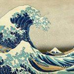 Toile sur châssis reproduction de l'œuvre La Grande Vague de Kanagawa de Katsushika Hokusai–Châssisen bois de 3 x 3cmImage haute résolutionImpression sur toile 100% coton Reproduction numérique d'œuvres d'artTableau de qualité supérieureFabriquée image 2 produit