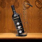 Tooarts Casier à Vin Saxophone en Métal Support de Fer Vin Casier à Bouteille Sculpture Décoration Artisanat de Décoration d'Intérieur de la marque Tooarts image 1 produit