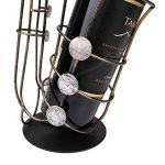 Tooarts Casier à Vin Saxophone en Métal Support de Fer Vin Casier à Bouteille Sculpture Décoration Artisanat de Décoration d'Intérieur de la marque Tooarts image 4 produit
