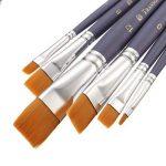 Tutoy 6Pcs Différent De Forme De Cheveux En Nylon Pinceau Ensemble Gouache Peinture Aquarelle Ensemble Pinceau de la marque Tutoy image 1 produit