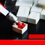 ULTNICE 50pcs aquarelles vides aquarelle peinture aquarelle demi casseroles en plastique casseroles pour la peinture de la marque ULTNICE image 1 produit