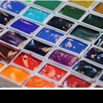 ULTNICE 50pcs aquarelles vides aquarelle peinture aquarelle demi casseroles en plastique casseroles pour la peinture de la marque ULTNICE image 3 produit