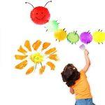 ULTNICE Brosse à éponges rondes Ensemble Brosses pour enfants Outils de peinture de bricolage Paquet de 20 de la marque ULTNICE image 2 produit
