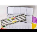 ULTNICE Palette Paint Case Boite en métal vide aquarelle boîte avec 24 girouette Set aquarelle de la marque ULTNICE image 3 produit